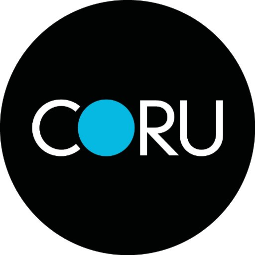 Coru Logo - Sparking Speech